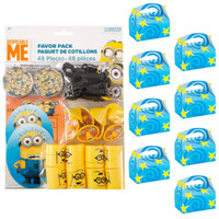Despicable Me Minions Filled Favor Box Kit (For 8 Guests)