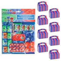 PJ Masks Filled Favor Box Kit for 8