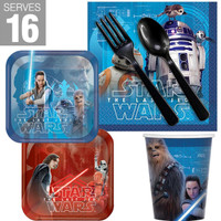 Star Wars Episode VIII The Last Jedi Snack Pack for 16