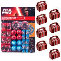 Star Wars Episode VIII The Last Jedi Filled Favor Box Kit (For 8 Guests)