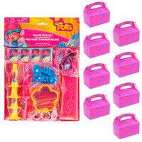 Trolls Filled Filled Favor Box Kit   (For 8 Guests)