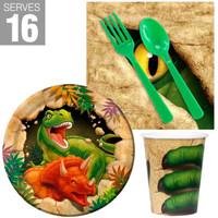 Dinosaur Adventure Snack Pack For 16