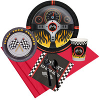 Racecar Racing Party Pack for 8