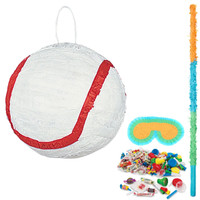 Baseball Pinata Kit 2