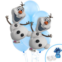 Frozen Jumbo Balloon Bouquet