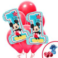 Mickey 1st Birthday Jumbo Balloon Bouquet