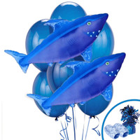 Shark Jumbo Balloon Bouquet