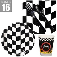Racing Party Snack Pack For 16