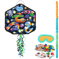 Slither.io Pull String Pinata Kit