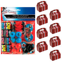 Power Rangers Ninja Steel Filled Favor Box Kit  (For 8 Guests)