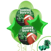 Football Touchdown Balloon Bouquet Kit