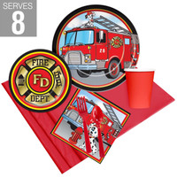 Firefighter Party Pack For 8
