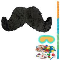 Mustache Pinata Kit 2