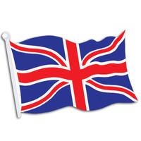 British Flag Cutout