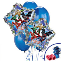 Justice League Jumbo Balloon Bouquet