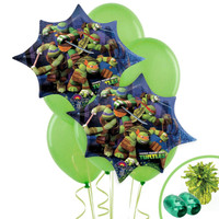 Ninja Turtles Jumbo Balloon Bouquet Kit