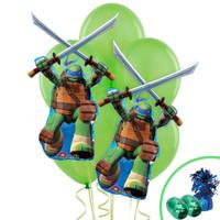 Ninja Turtles Leonardo Jumbo Balloon Bouquet Kit