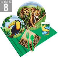 Jungle Party Pack For 8