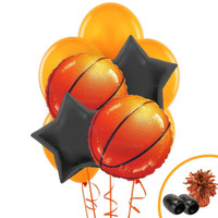 Basketball Balloon Bouquet Kit