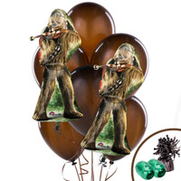 Star Wars Chewbacca Jumbo Balloon Bouquet Kit