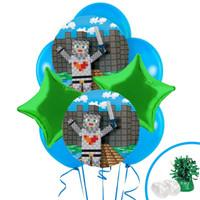 Medieval Pixels Balloon Bouquet Kit