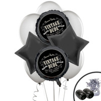 Vintage Dude Balloon Bouquet Kit