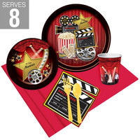 Movie Party Pack For 8