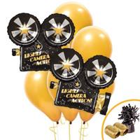 Lights, Camera, Action Jumbo Balloon Bouquet