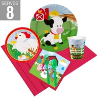 Barnyard Party Pack For 8