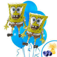SpongeBob Jumbo Balloon Bouquet Kit