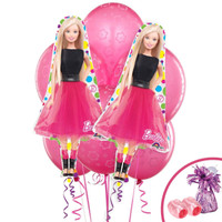 Barbie Jumbo Balloon Bouquet Kit