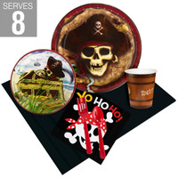 Pirates Party Pack For 8