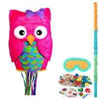 Pink Owl Pinata Kit