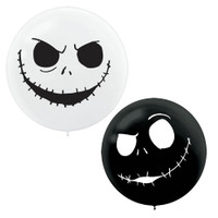 Nightmare Before Christmas Giant 24 Latex Balloons (2ct)