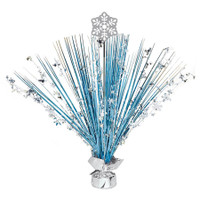 Snowflake Foil Spray Centerpiece (1)