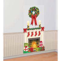 Holiday Wreath Scene Setter