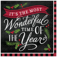 Most Wonderful Time of Year Lunch Napkin (16)