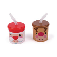 Cheery Christmas Cup with Straw (12)