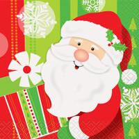 Happy Santa Beverage Napkin (16)