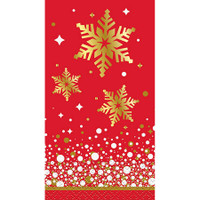 Gold Sprkle Christmas Guest Napkin (16)