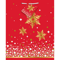 Gold Sparkle Christmas Medium Giftbag (1)
