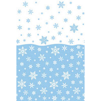 """Snowflakes Tablecover 54"""" x 84"""""""