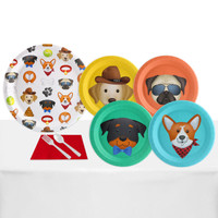 Puppy Dog Paw-ty 32 Guest Party Pack