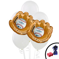 Baseball Jumbo Balloon Bouquet