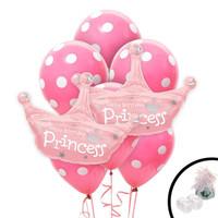 Princess Crown Jumbo Balloon Bouquet