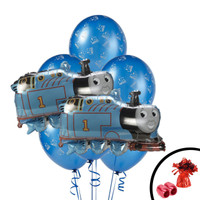 Thomas the Train Jumbo Balloon Bouquet