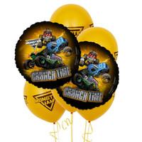 Monster Jam 8 pc Balloon Kit