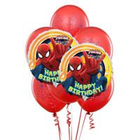 Spider man 8 pc Balloon Kit