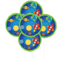 Rocket to Space  5pc Foil Balloon Kit