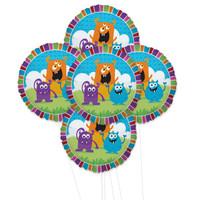 Monsters  5pc Foil Balloon Kit